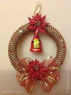Декор предметов Поделка изделие Новый год Плетение Новый год к нам мчится   Добавила много фото Бумага газетная Трубочки бумажные фото 18