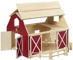 Free Wood Toy Barn Plans | Toy Plans & Patterns - Building ...