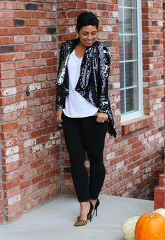 DIY Sequin Cardi - Mimi G Style....I'm going to make this!