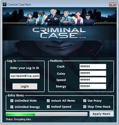 Criminal Case Hack Tool