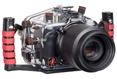 Ikelite Underwater Camera Housing with E-TTL for Canon Digital EOS 5D Mark II Camera, Clear Molded