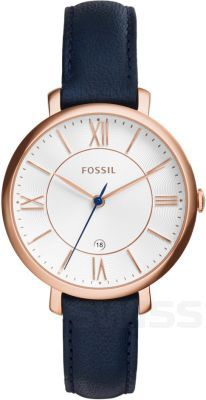 Fossil Women's Jacqueline Blue Leather Watch – Women's Watches – Jewelry & Watches – Macy & # s; Casual Watches, Cool Watches, Cheap Watches, Fossil Watches, Women's Watches, Luxury Watches, Citizen Watches, Analog Watches