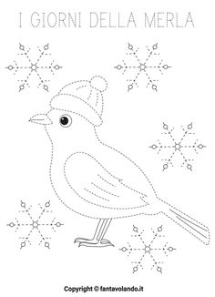 Snoopy, Birds, Fictional Characters, Winter Time, Drawings, Winter, Index Cards, Kindergarten, Bird