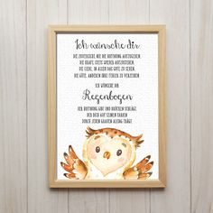 I wish you rainbow art print owl saying picture children's room decoration – Kids Room 2020 Ciel Art, Owl Quotes, Baby Room Colors, Kids Room Paint, Art Prints Quotes, Quote Art, Rainbow Art, Childrens Room Decor, Baby Scrapbook