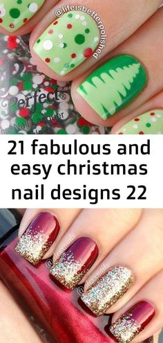 21 Fabulous and Easy Christmas Nail Designs 37 Perfect for The Holiday Season 40 Ideas makeup tutorial for kids girls nail art for 2019 25 Crazy Nail Design Wedding To Match With Your Outfits Nails Girls Nail Designs, Crazy Nail Designs, Simple Nail Designs, Nails For Kids, Girls Nails, Christmas Nail Art Designs, Christmas Nails, Christmas Makeup, Holiday Nails