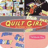 Quilt Girl Fat Quarter Bundle Whistler Studios for Windham Fabrics