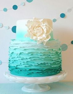 Perfect baptism or baby shower cake
