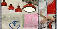 Make Shining Lamps with Plastic Bottles