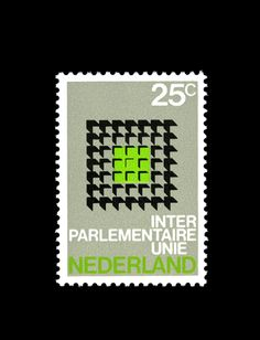 The Netherlands - Inter Parliament Unity Stamp