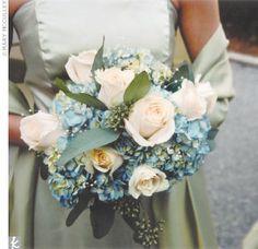 Real Weddings - Alys & Trevor: A Beach Wedding in Sarasota, FL - The Bridesmaid Bouquets