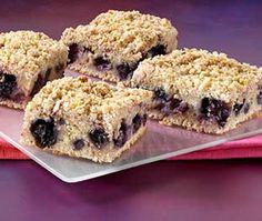 Blueberry Crunch Cake
