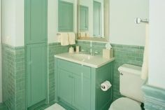 Vintage green tile bathroom when we finally decided to keep it how to cover ugly ceramic tiles in the bathroom sisterspd