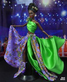 Ninimomo's Barbie.  The Caribbean.  2009/2010  Miss St. Vincent