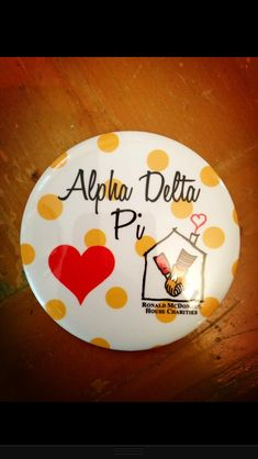 ADPi Loves RMH  want!!  Good for Philanthropy Day!