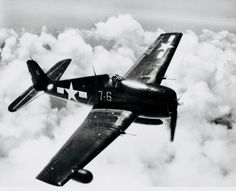 The Grumman Hellcat was a fighter aircraft used by the United States Navy in World War II. The Hellcat was designed for use aboard United States Navy aircraft carriers. Grumman Aircraft, Navy Aircraft, Ww2 Aircraft, Fighter Aircraft, Aircraft Carrier, Military Aircraft, Fighter Jets, Aircraft Images, Grumman F6f Hellcat