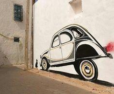 Citroën 2CV Art #Citroën #2CV