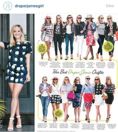 Love her style.  Draper James by Reese Witherspoon