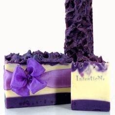 Intentions Soap - they know how to design jaw-dropping soap art and how to photograph it, too!  Kudos! Amazing purple!