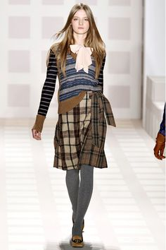 Lots of plaid skirts at the re-sale shops--this is a great upcycle project!