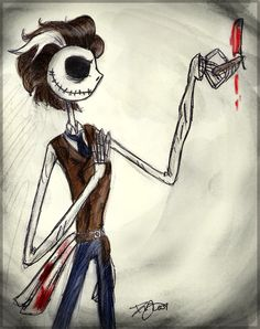 Sweeney Todd~Jack Skellington crossover ^~^
