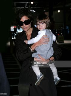 Actress Katie Holmes sighting with daughter Suri Cruise on October 20, 2007 in New York City.