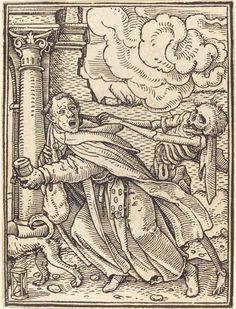 Mendicant Friar | Hans Holbein