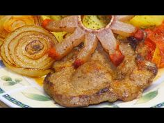 Cigánypecsenye - YouTube Hungarian Recipes, Starters, Main Dishes, French Toast, Bacon, The Creator, Pork, Food And Drink, Vegetarian
