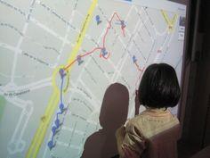 Crear un MAPA INTERACTIVO cuando hagamos un recorrido por nuestra ciudad