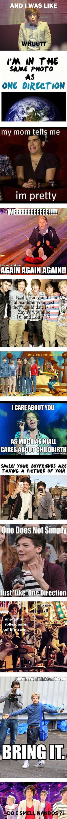 "I am so gonna say "" I care about you as much as Niall cares about childbirth!"" To somebody who I don't like!!!<<<< Going places."