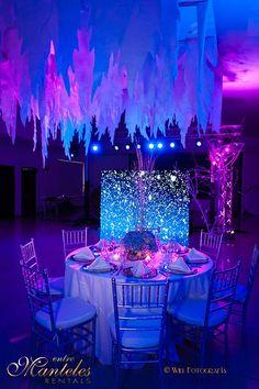 Festa elegante azul e roxo 1.5
