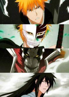 Ichigo's evolution.