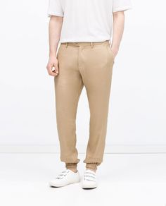 ZARA - MAN - LINEN TROUSERS