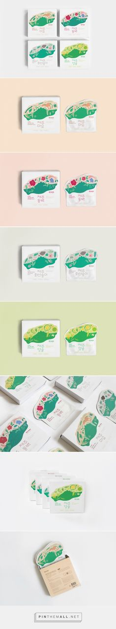 CIRACLE From jeju mask Packaging on Behance - created via http://pinthemall.net