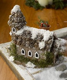 Winter Fairy House