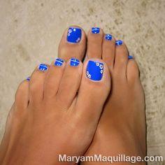 Camomiles nails