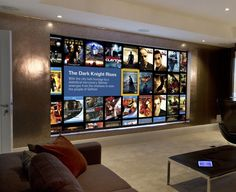 Home cinema images from our projects, all designed and installated by SONA.
