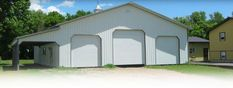 We offer a variety of metal garages in many sizes, colors and options to personalize your building, perfect for your hobby, gear, vehicles and storage.
