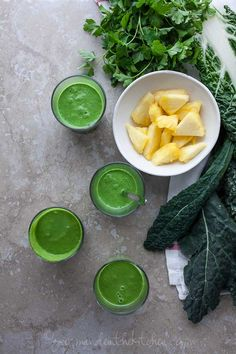 Drink Your Greens Smoothie | Gourmande in the Kitchen