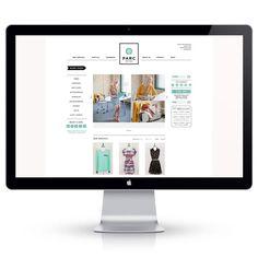 Typography  Parc Boutique Goes Online! | { wit  delight }