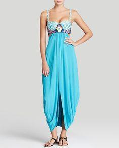 78535ca122f0d Mara Hoffman Checkers Embroidered Maxi Dress Swim Cover Up   Bloomingdale's Mara  Hoffman Dress, Swimsuit