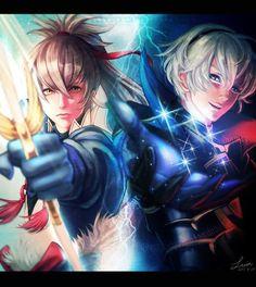 Fire Emblem: If/Fates - Takumi and Leon