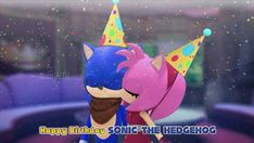 Sonamy Boom Edit A Birthday Kiss by ajaysr Amy Rose, Sonic Vs Knuckles, Super Shadow, Sonic The Hedgehog, Sonamy Comic, Sonic And Amy, Drawing Practice, Comic Page, Animated Cartoons
