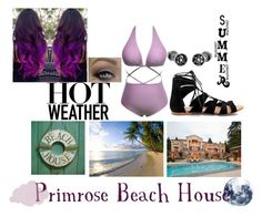 """Primrose Beach House: Aika"" by silentfoxrose on Polyvore"