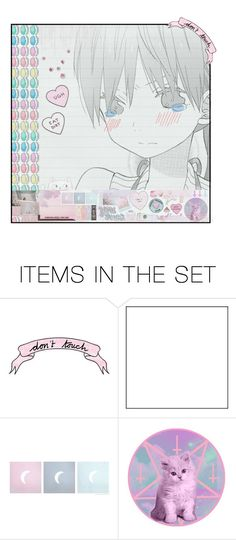 """""""set #3285743952734525435"""" by junimei ❤ liked on Polyvore featuring art"""
