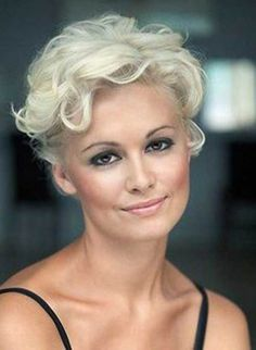 Curly Short Hair For Women Over 40