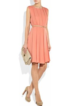 Chloe pleated dress, I sooo love the colour!!! ♥♥♥