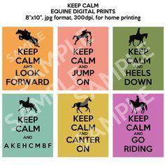 Just keep calm, just keep calm! ;)