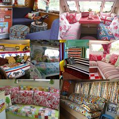 When it comes to decorating your RV camper... it's aaaaaall about the patterns!