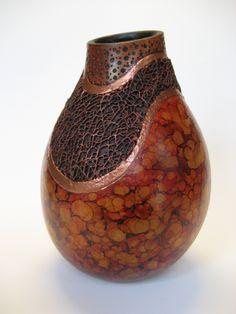 Gourd w/Cactus Fiber