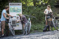 Kunde: www.flims.com E Biker, Filling Station, Flims, Tourism